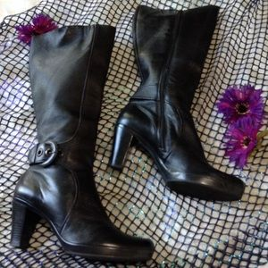 Clarks Leather Boots